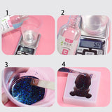 Clear Hard Epoxy Resin Jewelry Crafting kit