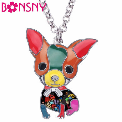 Chihuahua Dog Chain Necklace