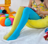 Candy Color Mixed Tights for girls 6 / One Size (3T-9T)