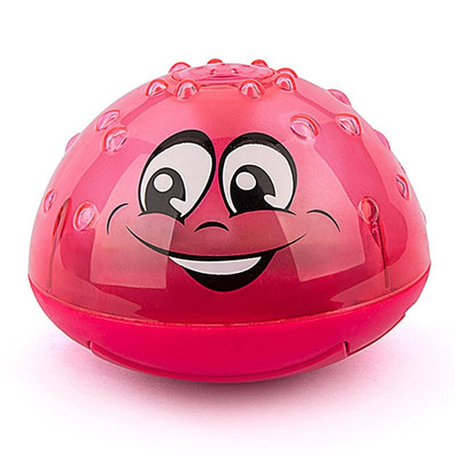 Electric Induction Water Spray Toy red water ball