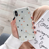 Lovebay Soft Clear Phone Cases For iphone For iphone 7 / Love Heart