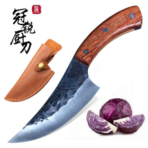 High carbon Steel Handmade slicing kitchen knife