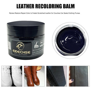 Leather Recoloring Balm Dark Blue