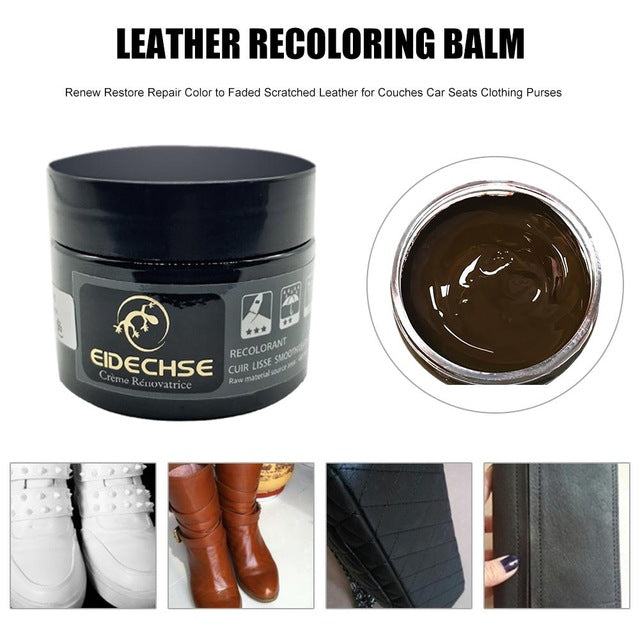 Leather Recoloring Balm Brown
