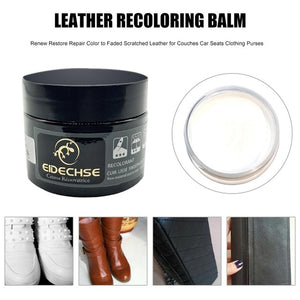 Leather Recoloring Balm White