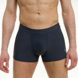 Men's pole dancing shorts - lycra comfort - Mike grey front
