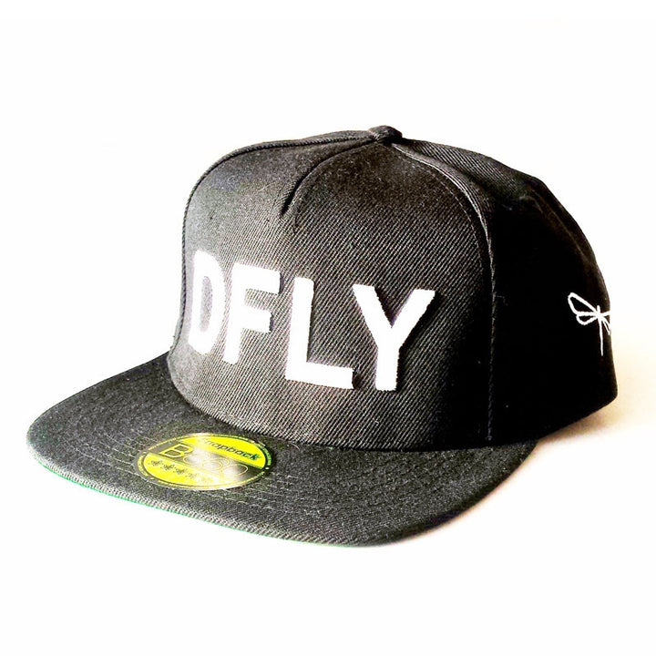 Dragonfly Selfie Cap - Snapback black / white front