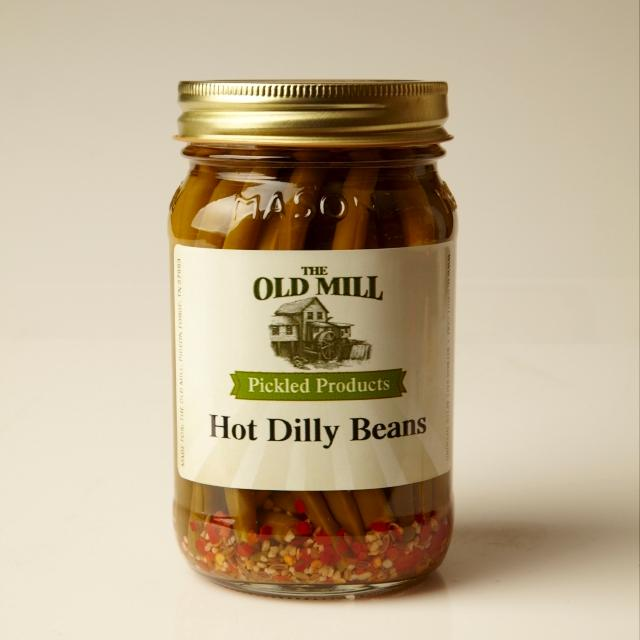 Pickled Dilly Beans (Hot)