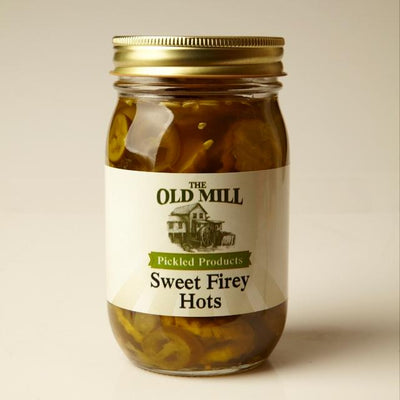 Pickled Peppers Sweet Firey Hots