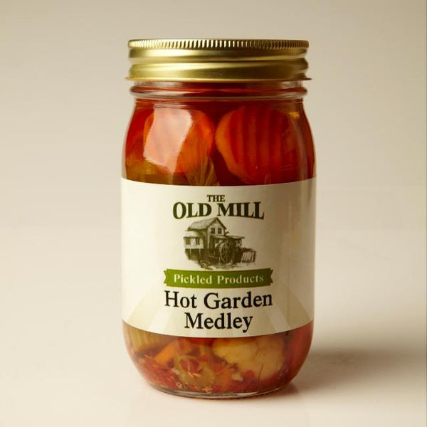 Pickled Garden Medley Hot