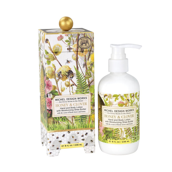 Honey and Clover Hand and Body Lotion