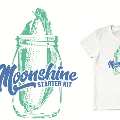 Moonshine Starter Kit t-shirt