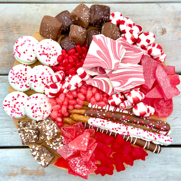 Valentine Candy Charcuterie