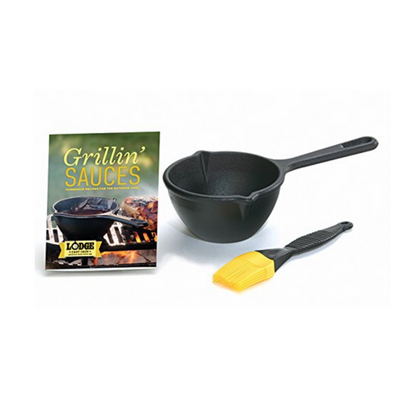Lodge Cast Iron Melting Pot Kit