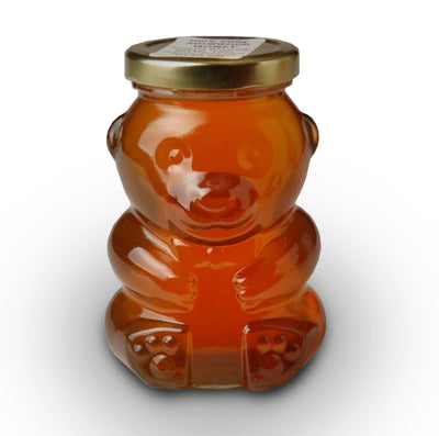 Glass Bear Sourwood Honey 12 oz