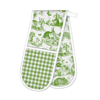 Bunny Double Oven Glove