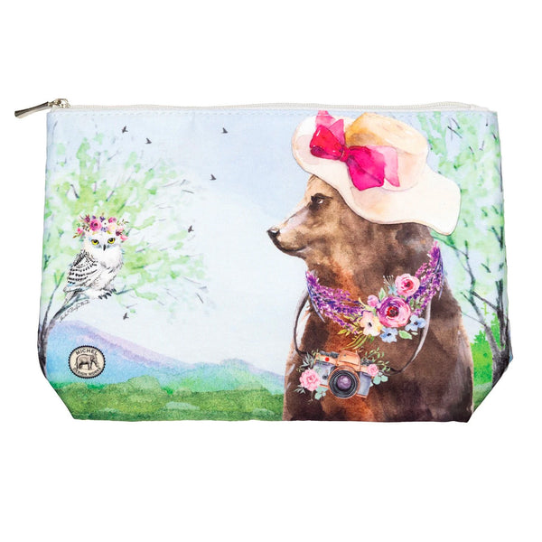 Garden Party Cosmetic Bag