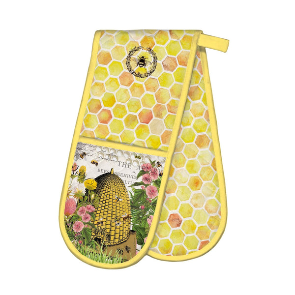 Honey and Clover Double Oven Glove