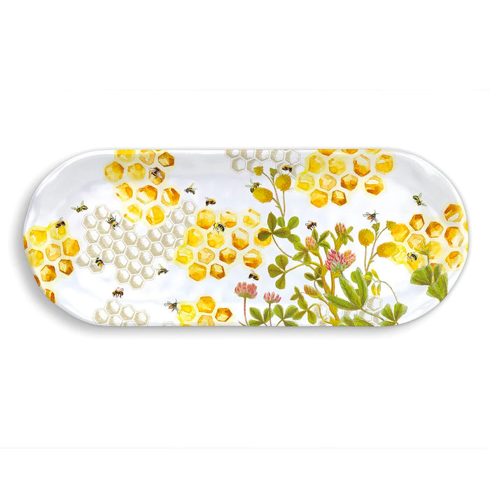 Honey and Clover Serving Tray