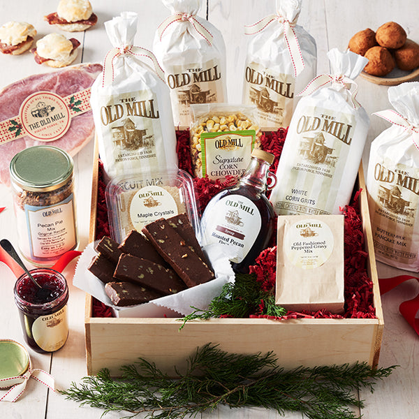 Taste Of Old Mill Gift Crate