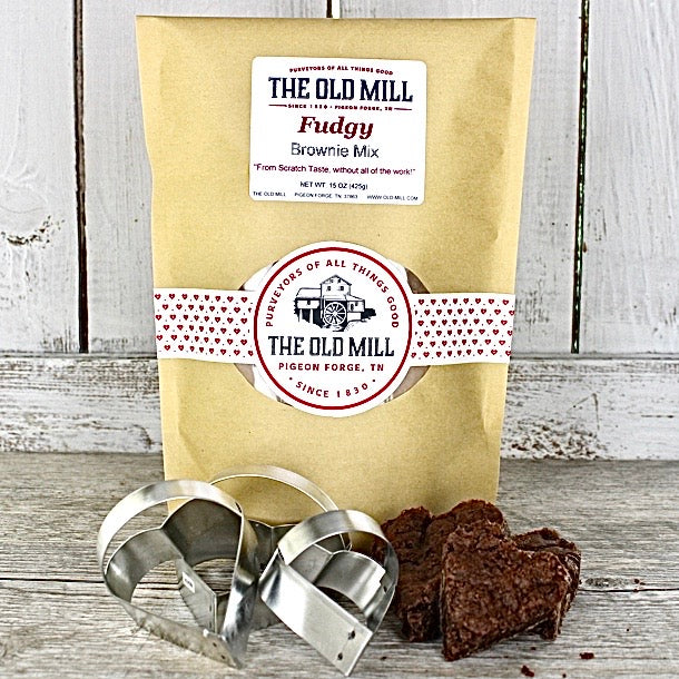 Fudgy Brownie Mix And Cutter Gift Set
