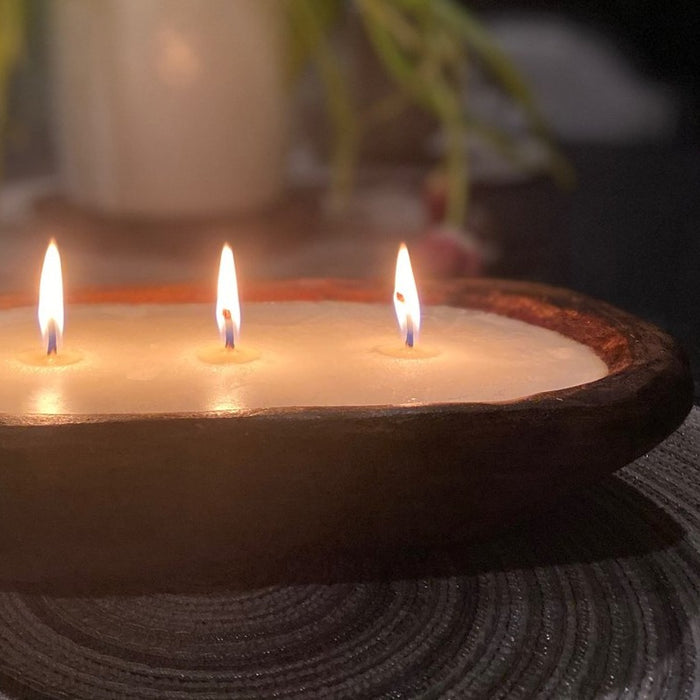 Dough Bowl Candle - Eight Wick