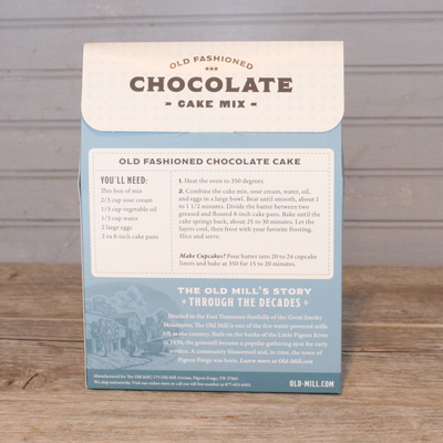 Old Fashioned Chocolate Cake Mix