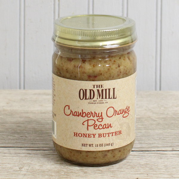 Cranberry Orange Honey Butter