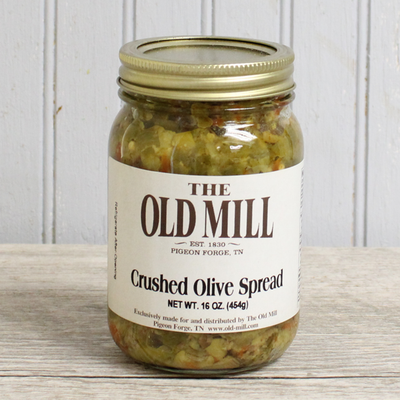 Crushed Olive Spread