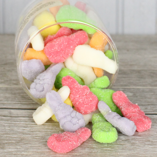 Gummi Sugared Bunnies-Easter