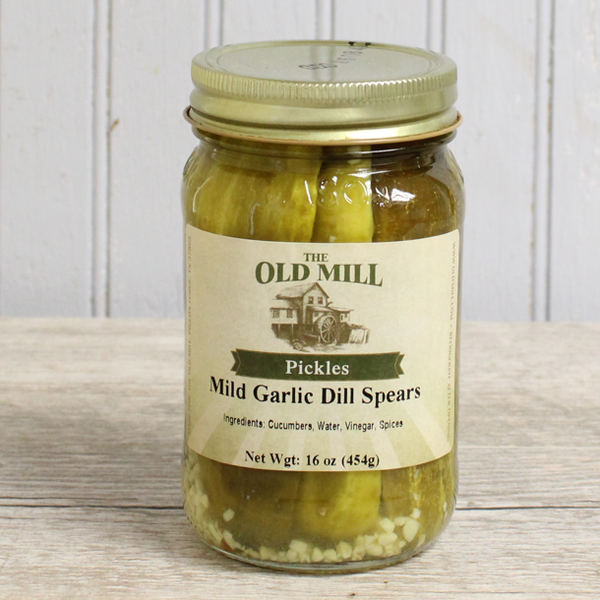 Mild Garlic Dill Spears