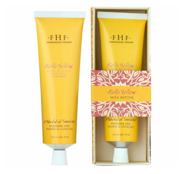Hello Yellow Shea Butter Hand Cream