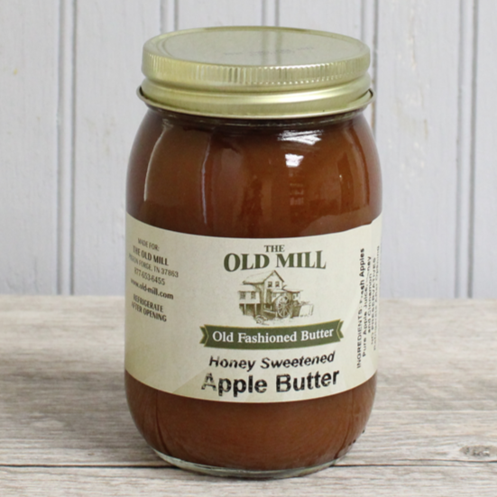 Honey Sweetened Apple Butter