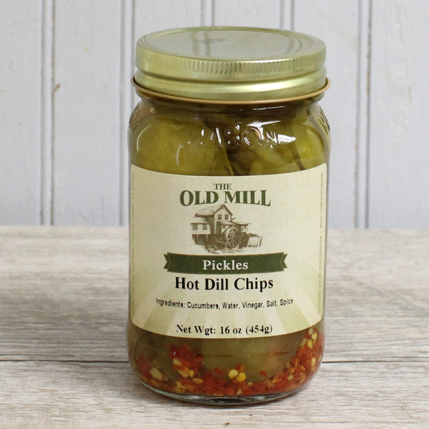 Hot Dill Chips