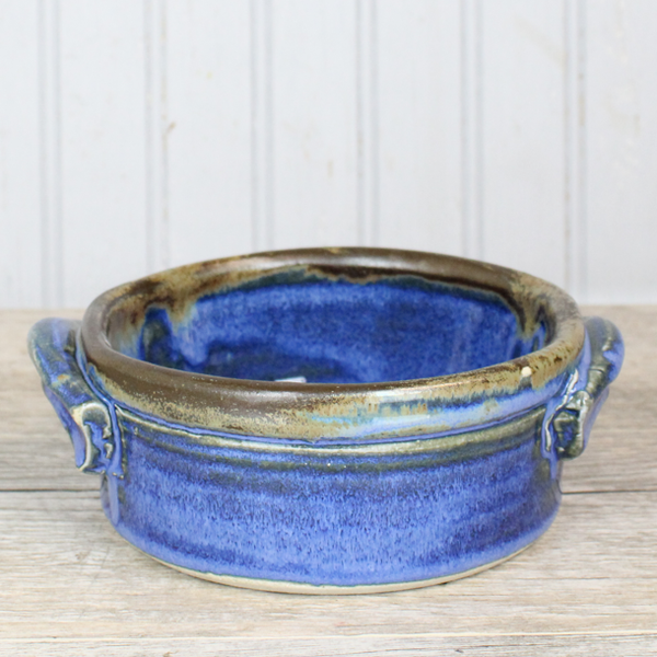 Small Casserole Blue Smoke