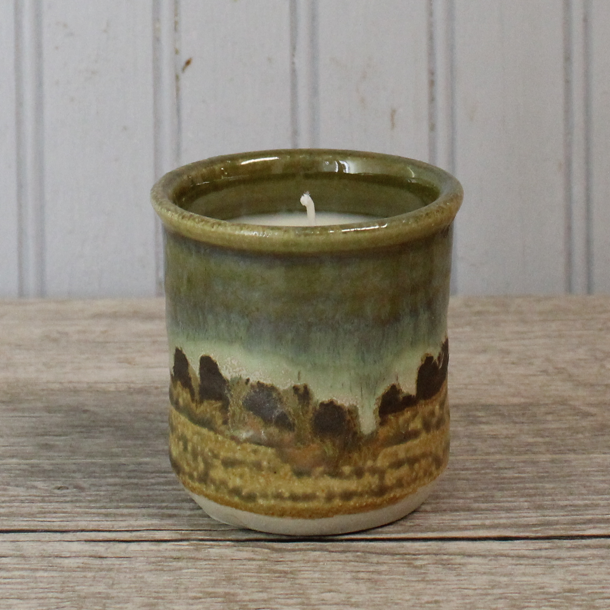 Spring Bouquet Small Candle