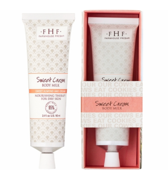 Sweet Cream Body Milk Travel Tube