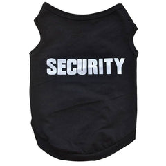 Dog Security Cotton Vest - doggy in style