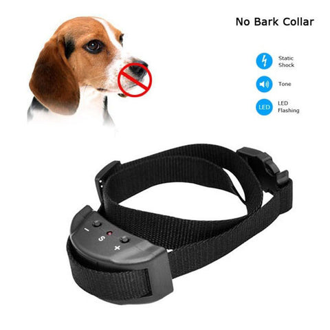 No Barking Collar Remote Electric Shock Vibration - doggy in style