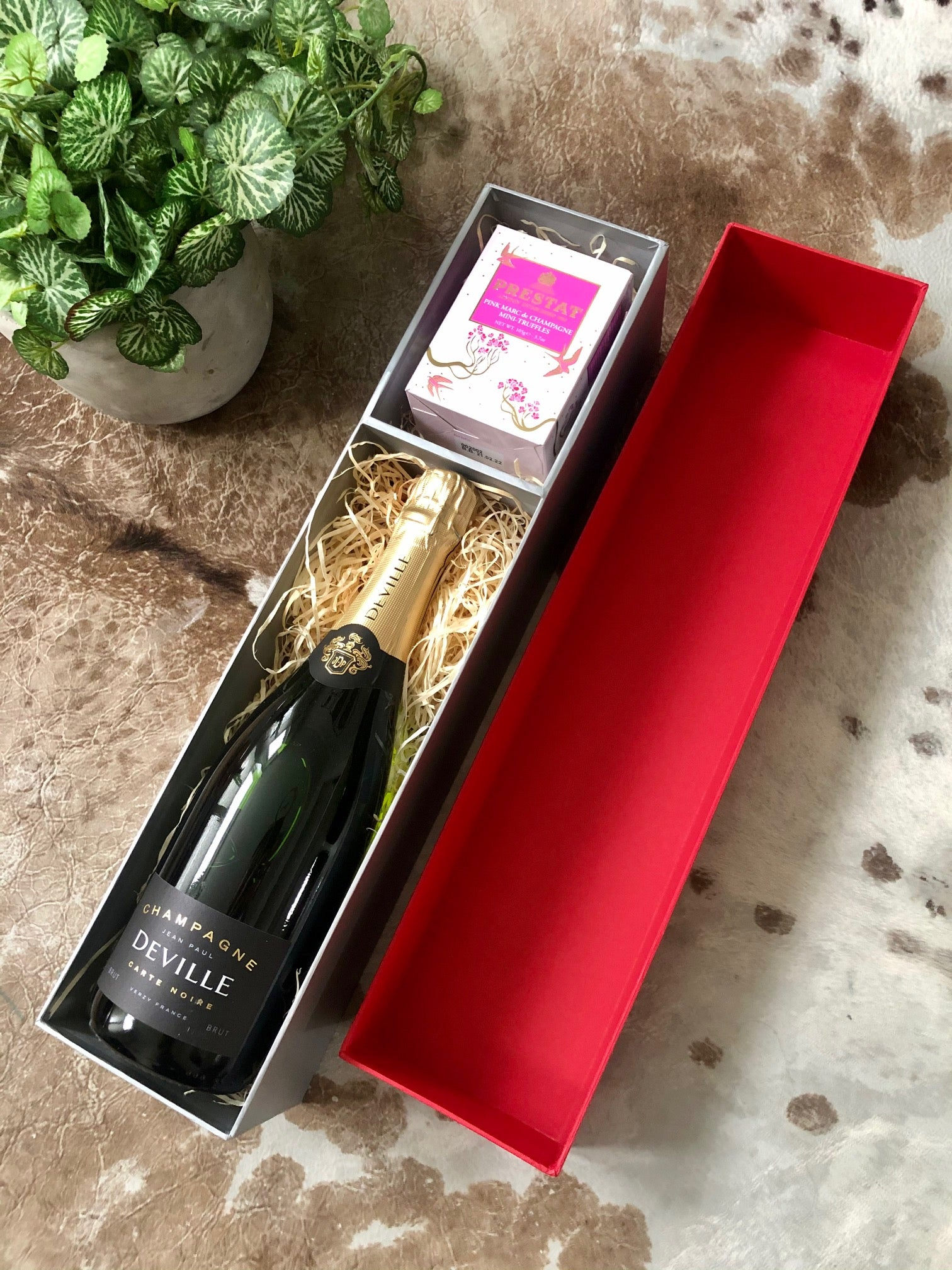 Deville Champagne & Chocolates Gift Box