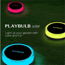 PLAYBULB Waterproof Color Smart Solar Light Yard Lawn Outdoor Decor Lamp