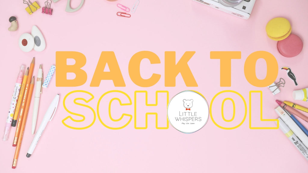 Little Whispers: Be Ready and Gear Up for School! | Little Whispers