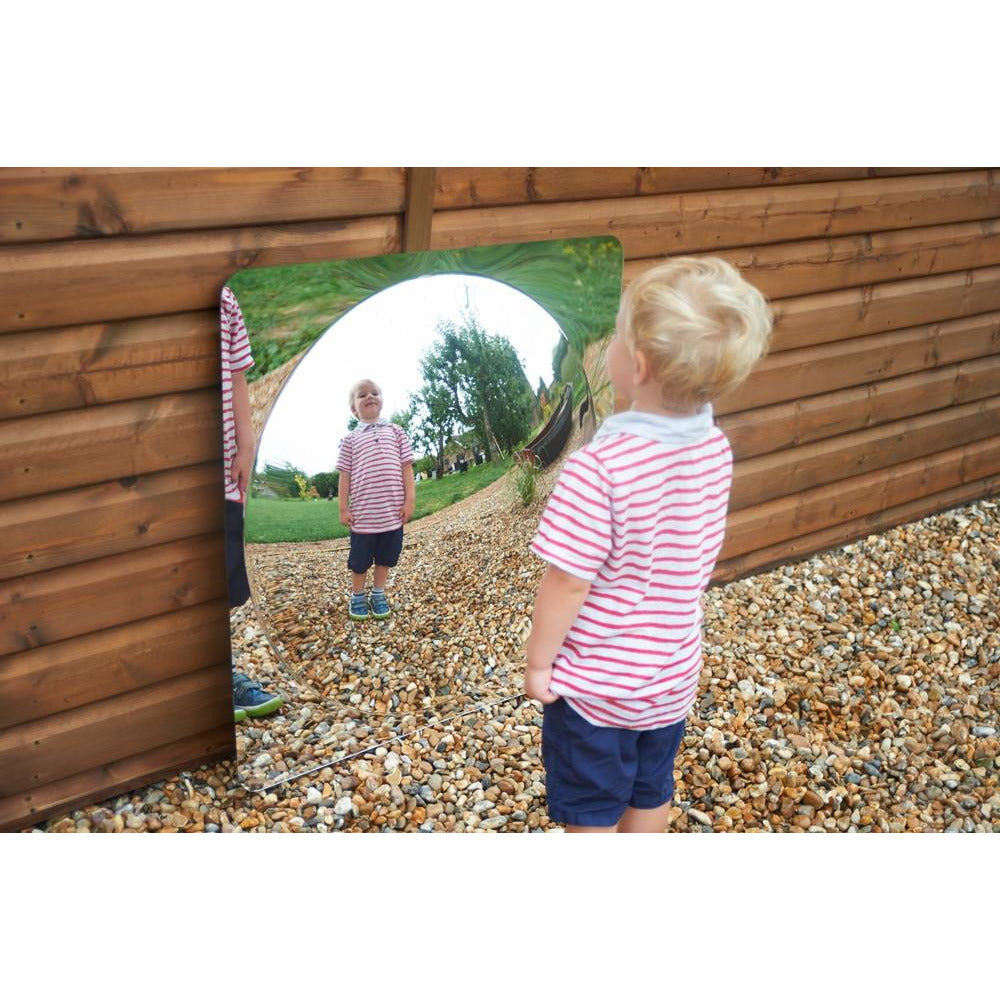 Giant Single Dome Acrylic Mirror Panel - Little Whispers