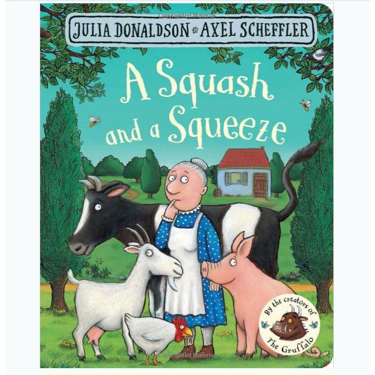 A Squash and a Squeeze Story Sack - Little Whispers