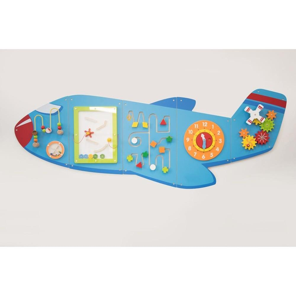 Aeroplane Wall Activity Panel - Little Whispers