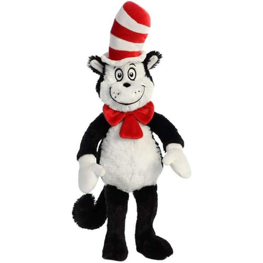 Aurora Cat In The Hat Soft Toy - Little Whispers