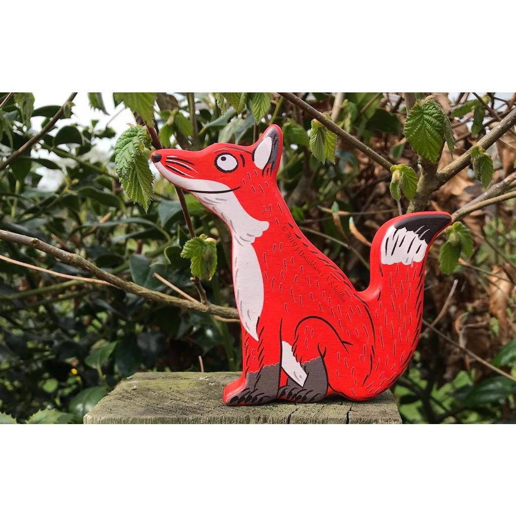 Bajo Wooden Figure - Fox - Little Whispers