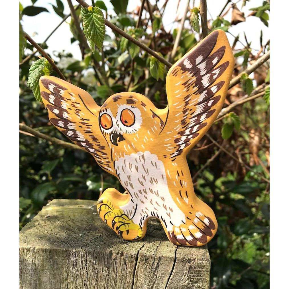 Bajo Wooden Figure - Owl - Little Whispers