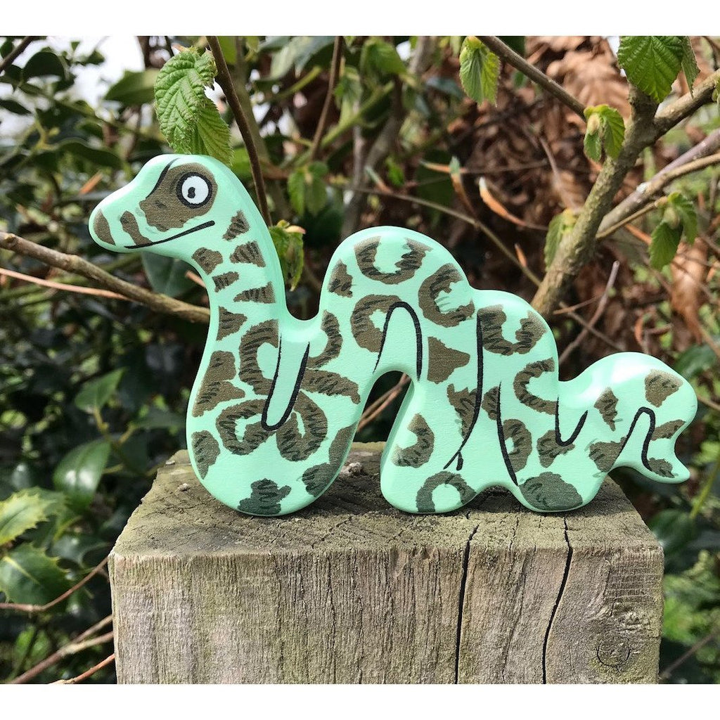 Bajo Wooden Figure - Snake - Little Whispers