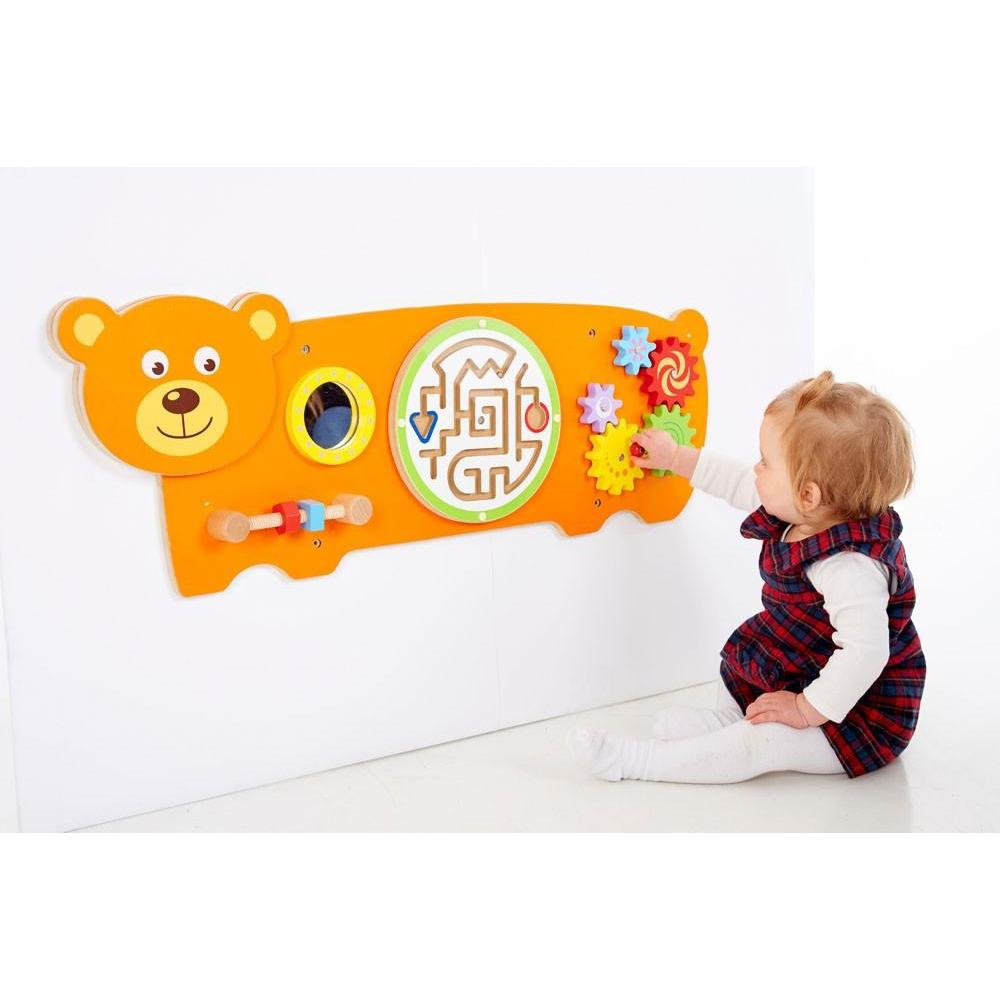 Bear Activity Wall Panel - Little Whispers
